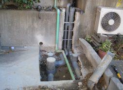排水管入替工事のイメージ