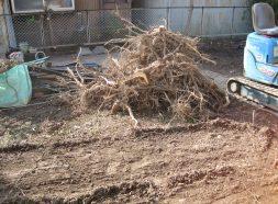 漏水調査、樹木伐採、整地工事のイメージ