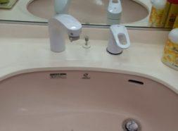 洗面水栓交換のイメージ