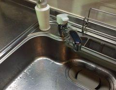 キッチン蛇口交換のイメージ
