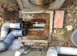 排水の工事のイメージ