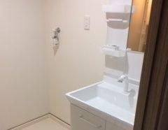洗面所改修工事のイメージ