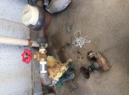 水道メーターバルブ交換のイメージ