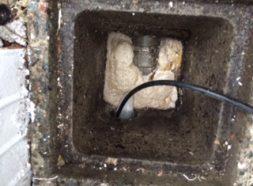 排水管詰まり抜きのイメージ