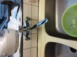 キッチン水栓水漏れのイメージ