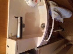 トイレ手洗い蛇口水漏れのイメージ