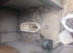 和式から洋式トイレ工事のイメージ
